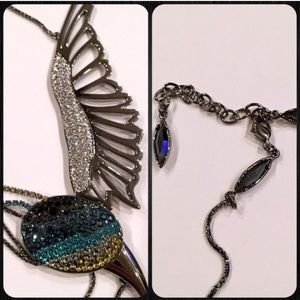 Swarovski Jewelry - Beautiful Authentic Swarovski Bird Necklace